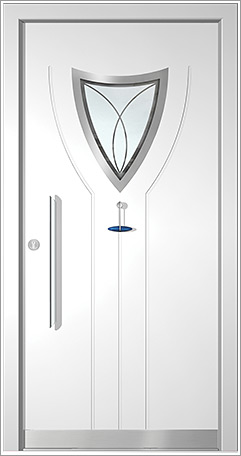 Haustür Modell Design 7391-E